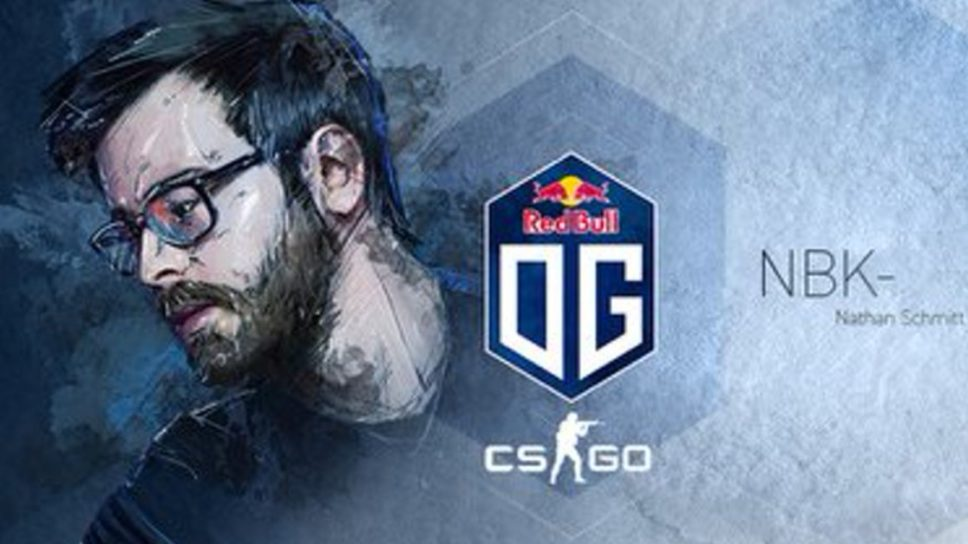 OG to Reportedly Drop NBK From its CSGO Roster