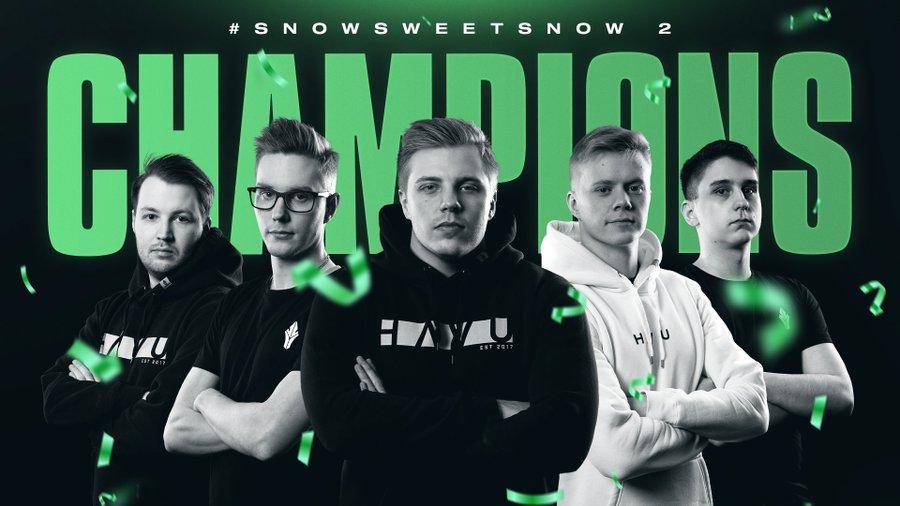 HAVU plow through Snow Sweet Snow CSGO tournament