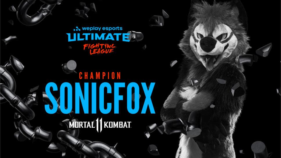 """Godlike"" SonicFox crowned WUFL Season 1 champion"