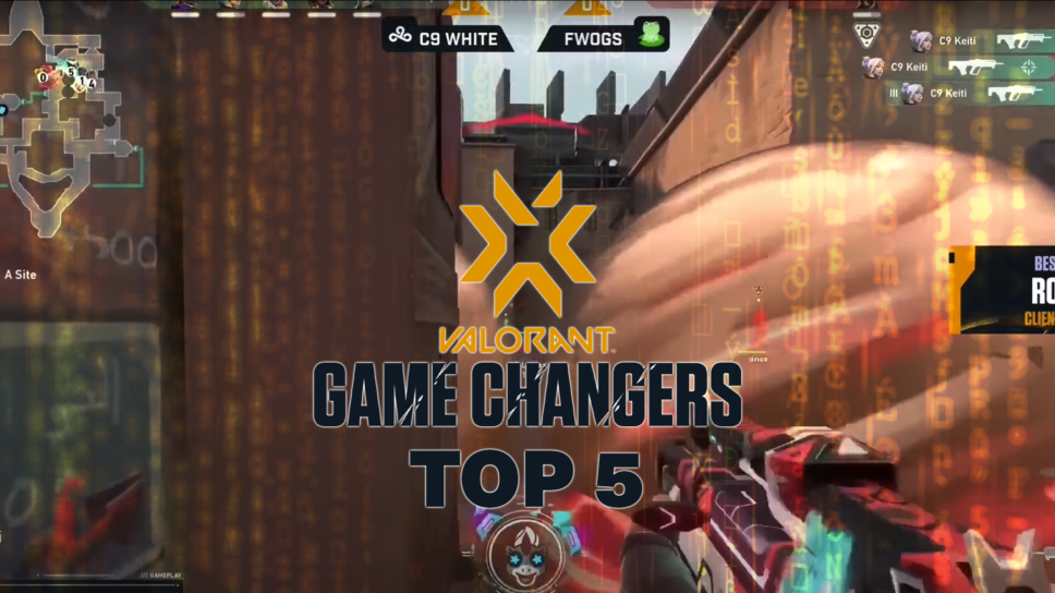 LucyMae's Top 5  players of the VCT Game Changers NA