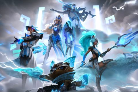 Riot introduces Damwon Gaming's World Championship skins