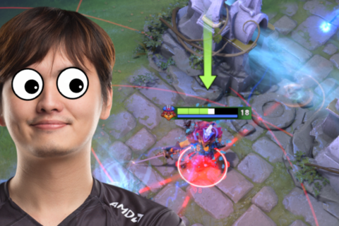 How iceiceice's ridiculous Fountain Dive won Evil Geniuses the game