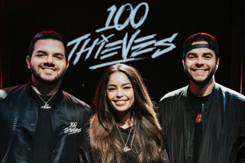 Valkyrae and Courage become 100 Thieves co-owners