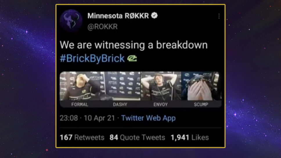 Minnesota Rokkr apologises for spicy post-game tweet in CoD League