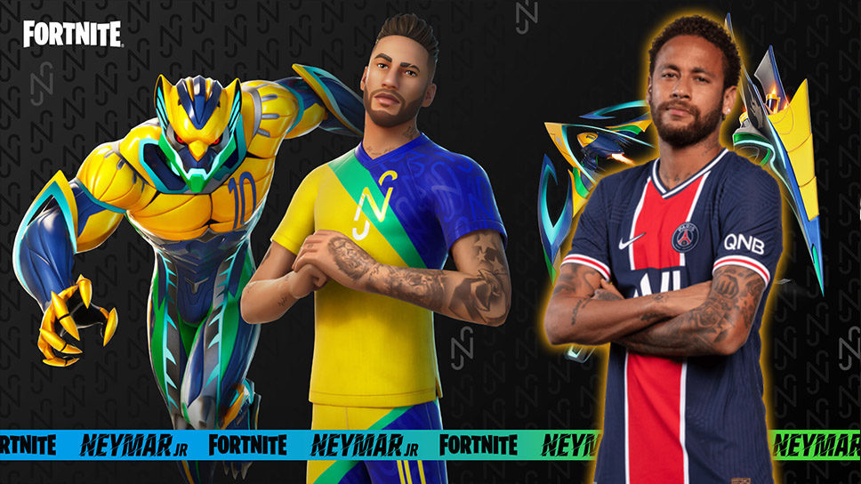 World's most expensive soccer player Neymar Jr becomes first playable athlete in Fortnite