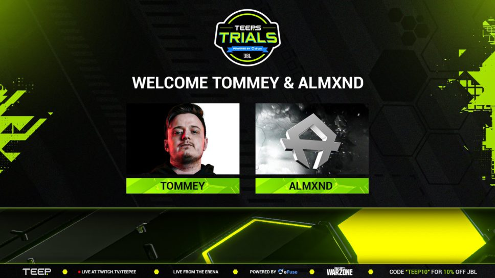 TeeP Trials returns with Tommey and FaZe Bloo amongst elite captains