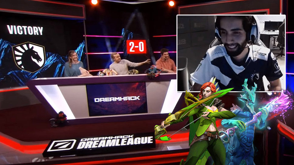 Return of the King? TI5 winner Sumail shows flashes of past glory as Liquid stand-in