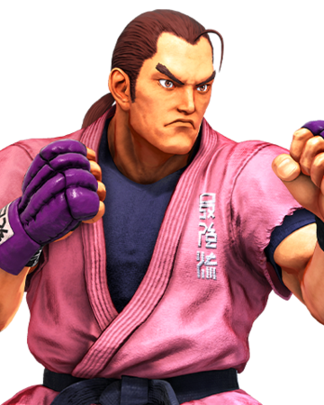 An image of Dan from Street Fighter V