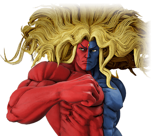 An image of Street Fighter V Gill