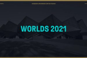 2021 Worlds Championship will take place in Shenzhen on November 6