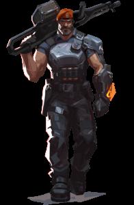 VALORANT agent Brimstone