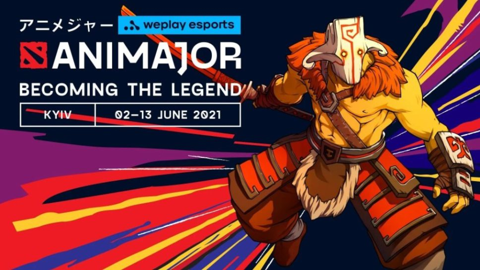 Weplay Animajor is the second Dota 2 Major for 2021