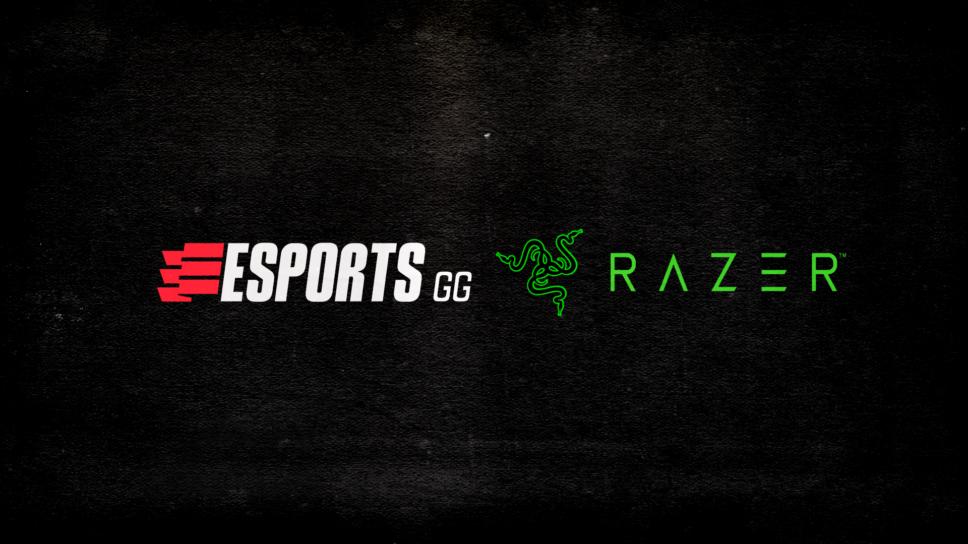 Esports.gg announces historic partnership with Razer!