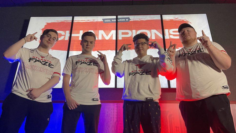 Atlanta FaZe crowned Stage 3 Major Champions