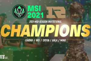 MSI 2021: RNG clinch title in hard fought battle with Damwon KIA
