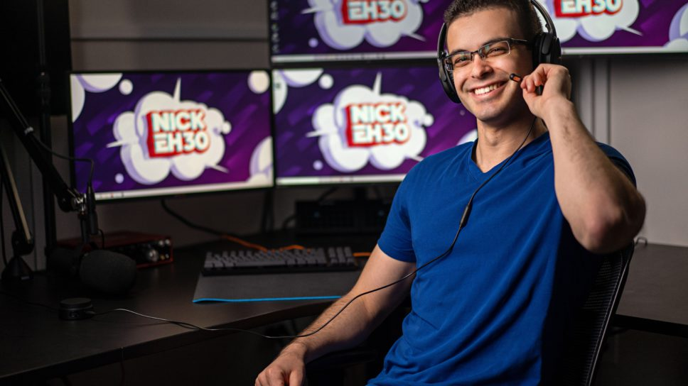 Nick Eh 30 is proving there is still a place for Positivity in Gaming