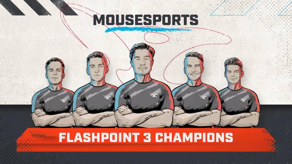 Mousesports defeat NiP to win Flashpoint Season 3