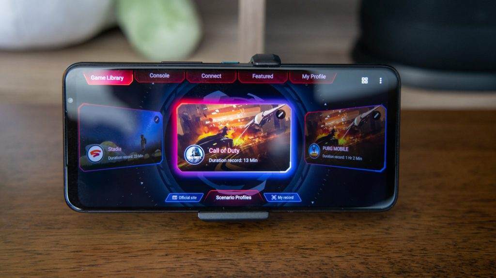 best smartphones to play Call of Duty Mobile ASUS ROG