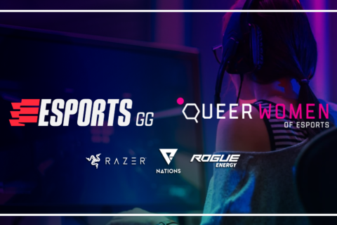 Esports.gg supporting Queer Women of Esports