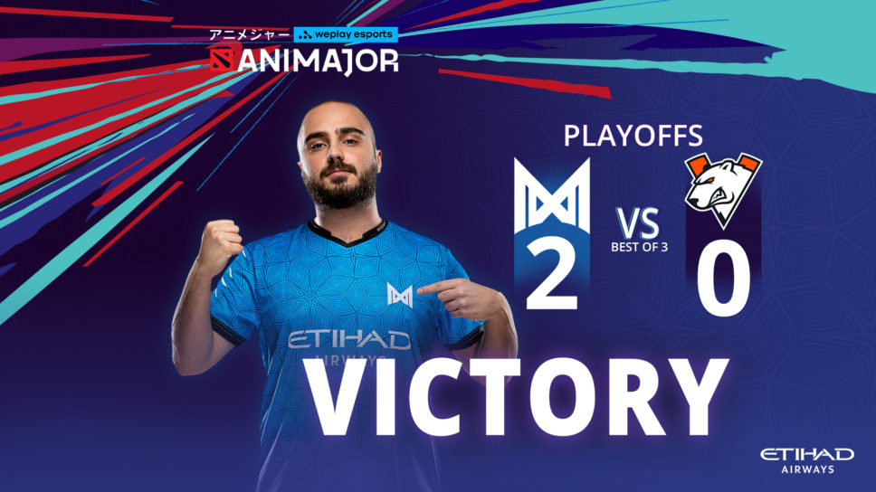 Nigma smash VP 2-0 in WePlay AniMajor Playoffs to keep TI10 hopes alive