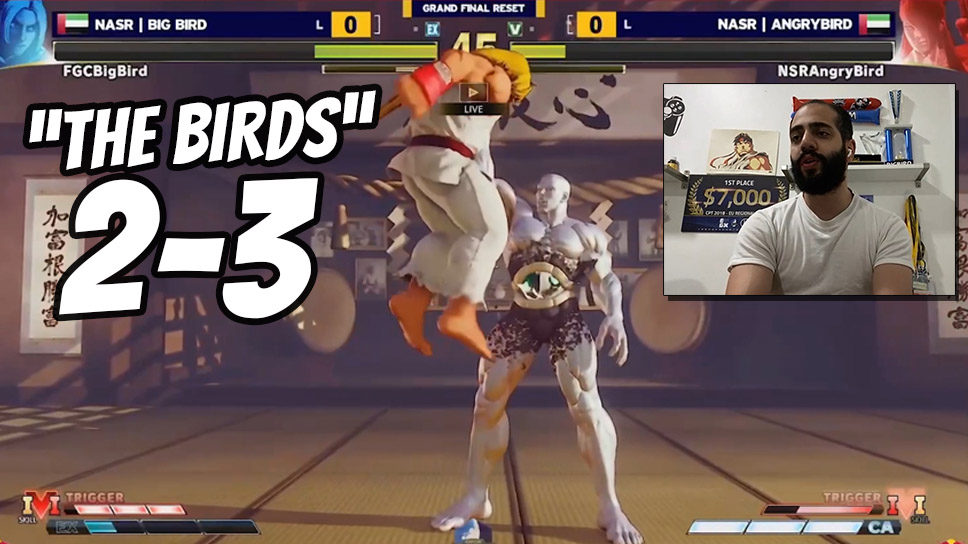 """""""The Birds"""" clash in epic 5-round thriller in Capcom Pro Tour 2021 Middle East"""
