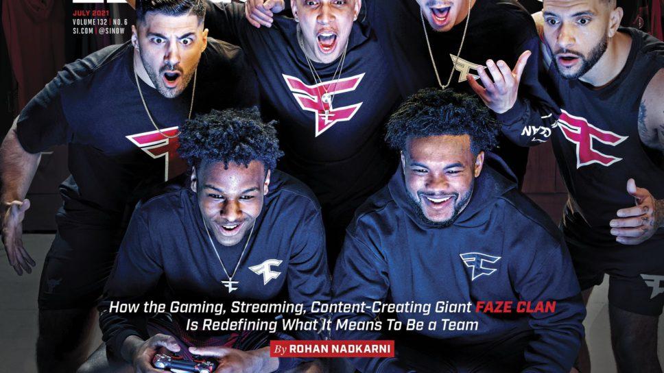 Membros da FaZe Clan são capa da Sports Illustrated
