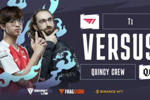 T1 now guaranteed at least top 3 at the AniMajor after beating Quincy Crew
