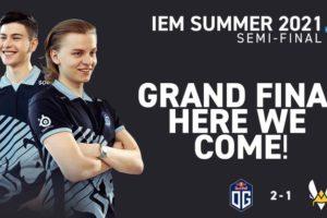 OG eliminate Team Vitality to book IEM Summer Grand finals slot