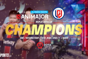 PSG.LGD complete clean sweep of Evil Geniuses to win WePlay Animajor!