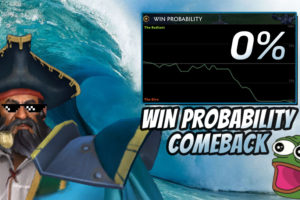 Biggest Comeback in Dota 2? Team wins game after 0% win-probability