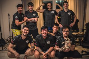"""""""Momento mágico"""" SG Esports become first-ever full Brazilian roster to qualify for TI"""