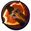 Battle Fury is a core item on Phantom Assassin in 95% of games.