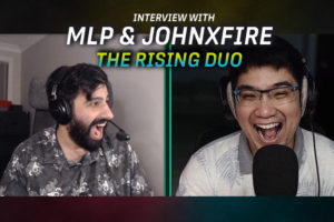 """After 1,300 duo casts MLP and Johnxfire are ready: """"I want us on LAN, I want us to be able to show off what we have. It feels like it's just been so close yet so far."""""""