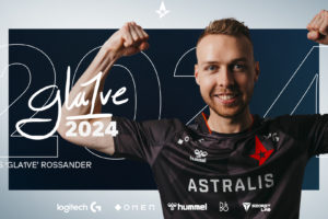 Astralis signs Gla1ve on new three year deal until 2024