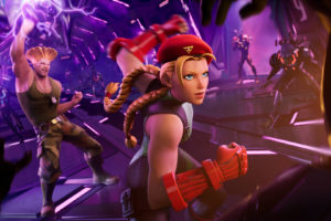 Fortnite adds  Street Fighter's Cammy and Guile skins