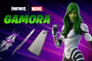 How to get Fortnite's Gamora Outfit, Backbling and Daughter of Thanos Spray