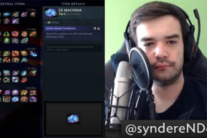 """SyndereN: """"After all this time, I still don't think neutral items add value to the game"""""""