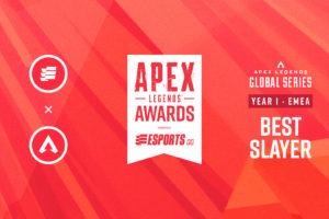 Apex Legends Awards: Nominations for Best Slayer in EMEA