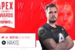 Apex Legends Awards: Alliance's Hakis wins Best IGL EMEA Award
