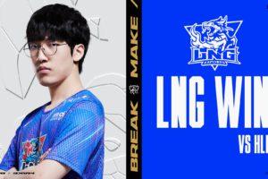 LNG Esports besiegt Hanwha Life zum Auftakt der Worlds 2021