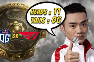 """""""We flipped a coin and let it decide for us, and it chose T1"""" - Xiao8 on playoff opponent selection"""